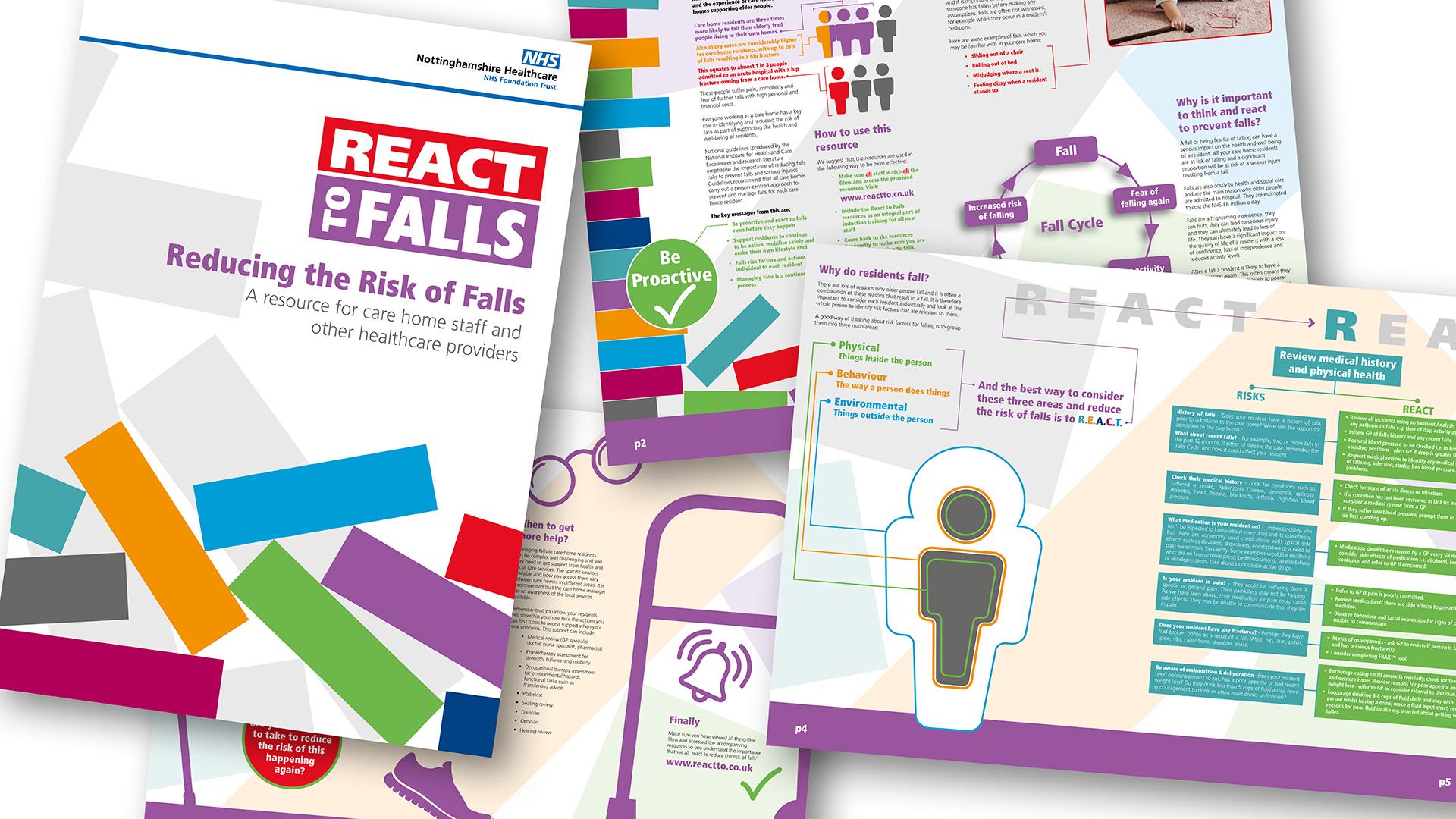 React to Falls