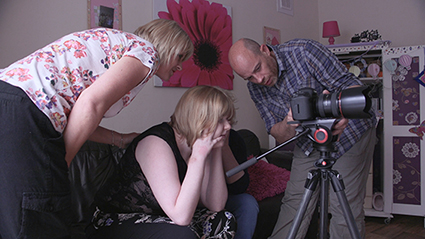 Digital filming Video production